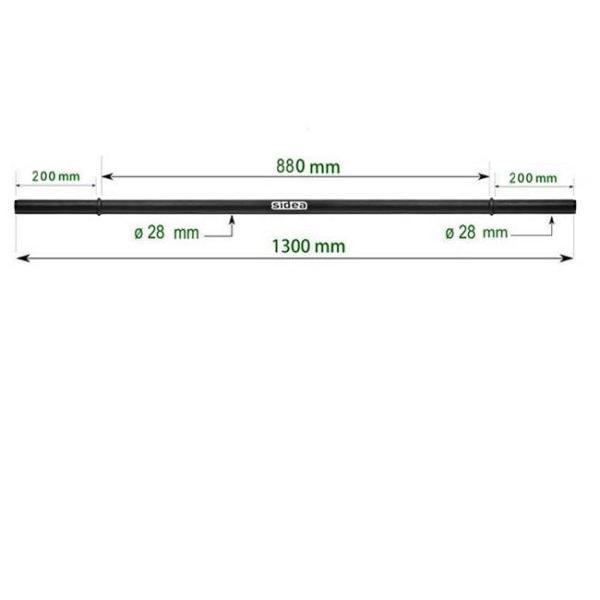 1660/1 Super Pump Iron Barbell