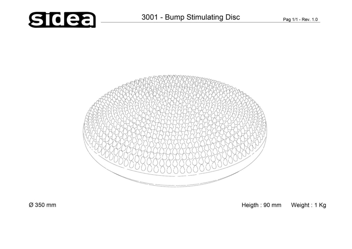 3001 Bump Stimulating Disc