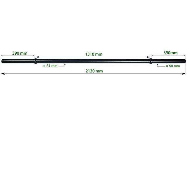 9015/7 Axle Barbell 50