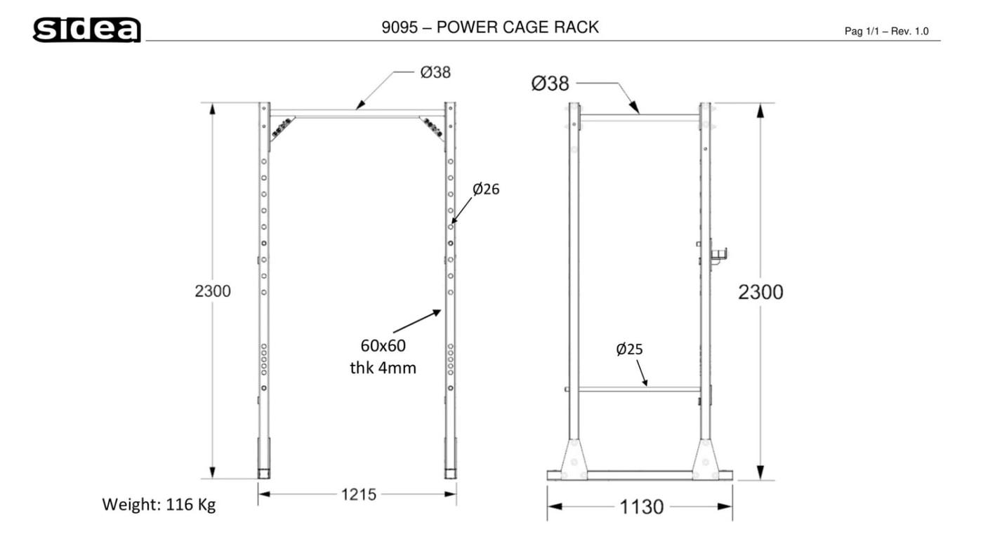9095 - Power Cage Rack