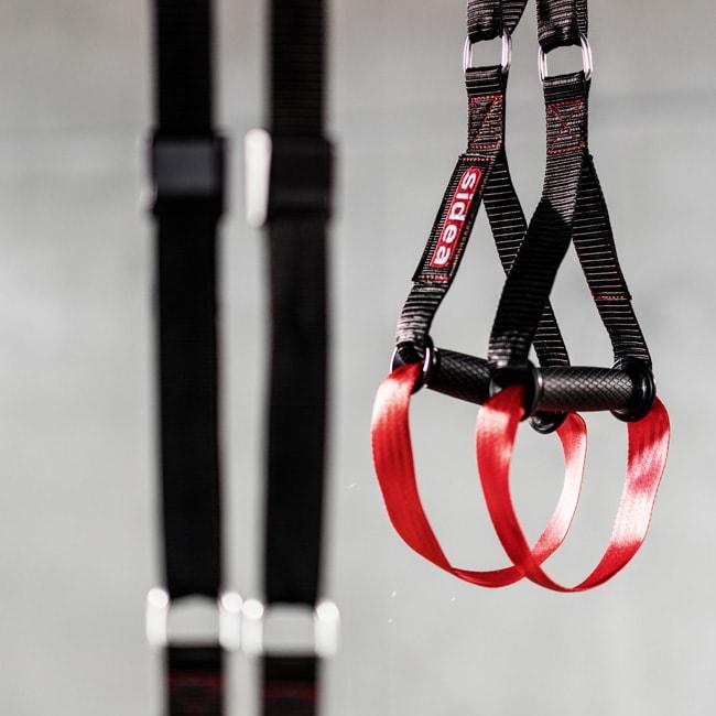 Flying suspension training