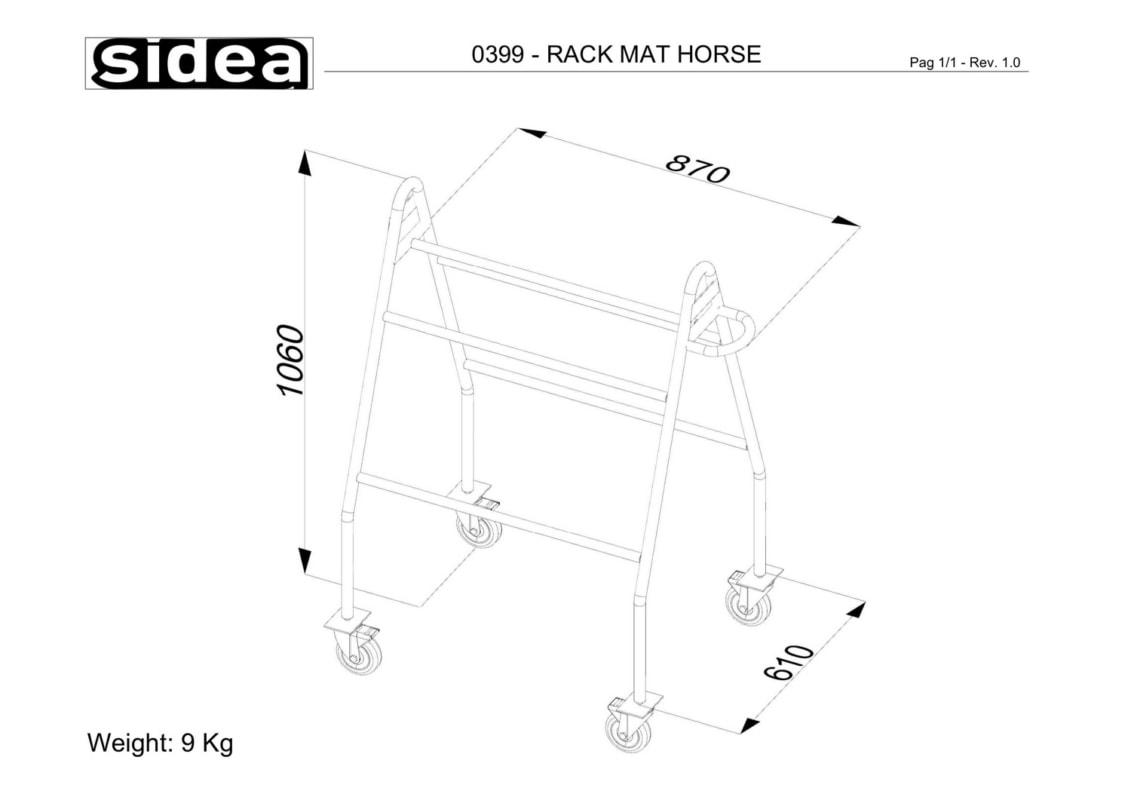 0399 - Rack Mat Horse-1