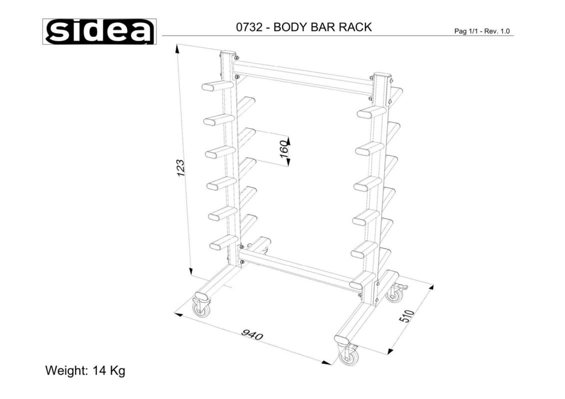 0732 - Body Bar Rack