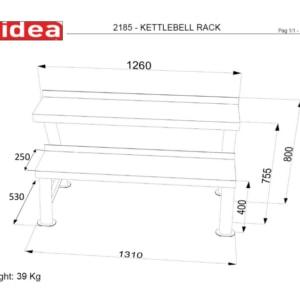 2185 - Kettlebell Rack