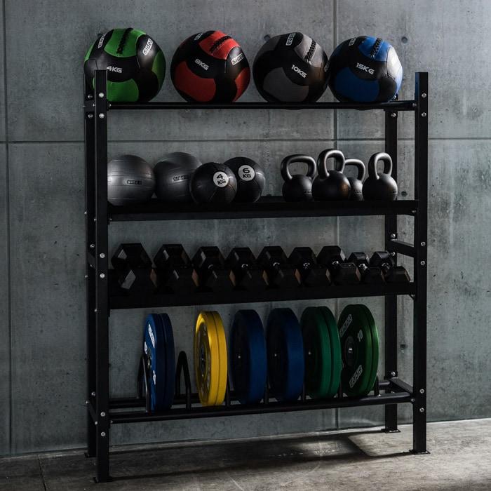 Universal storage rack