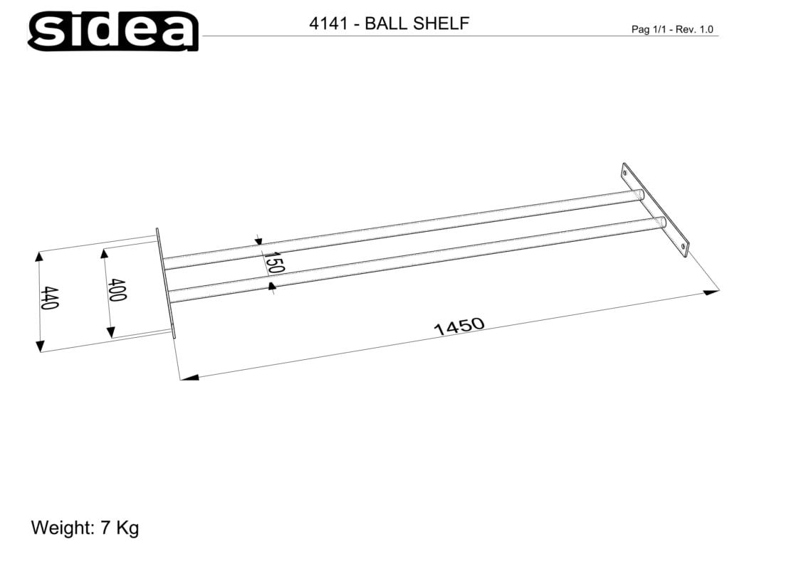 4141 Balls Shelf