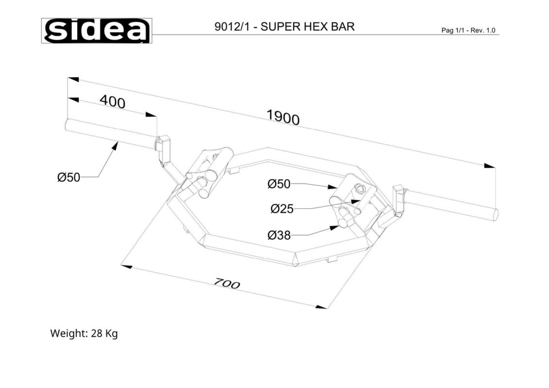 9012_1 - Super Hex Bar