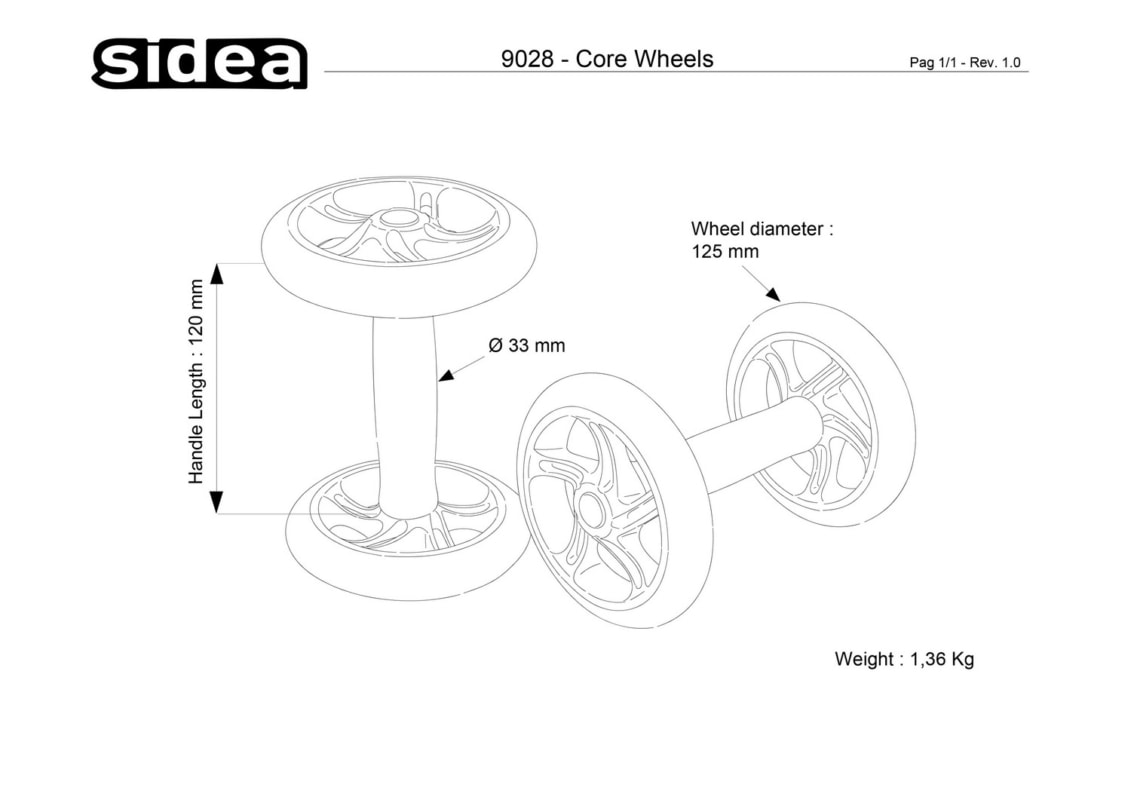 9028 Core Wheels