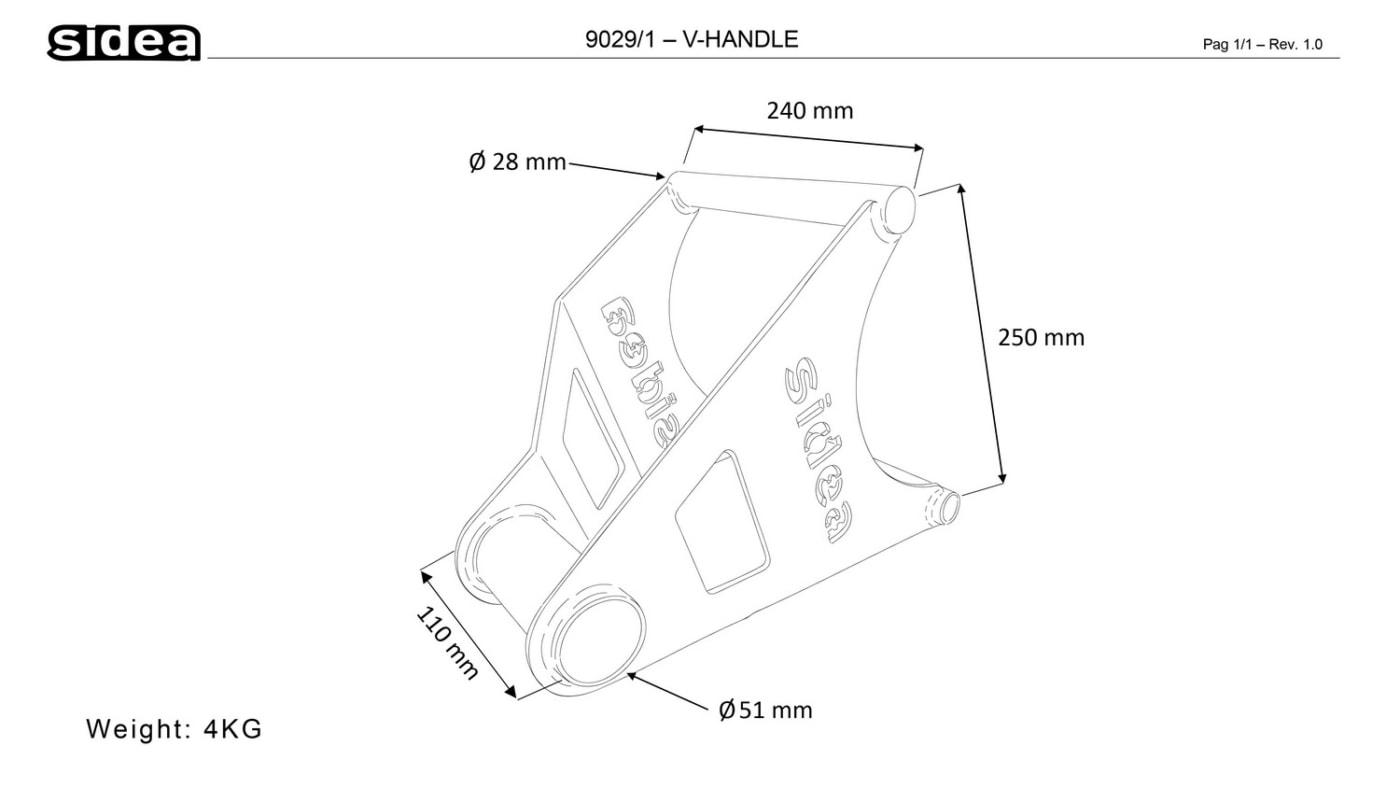 9029/1 V-Handle