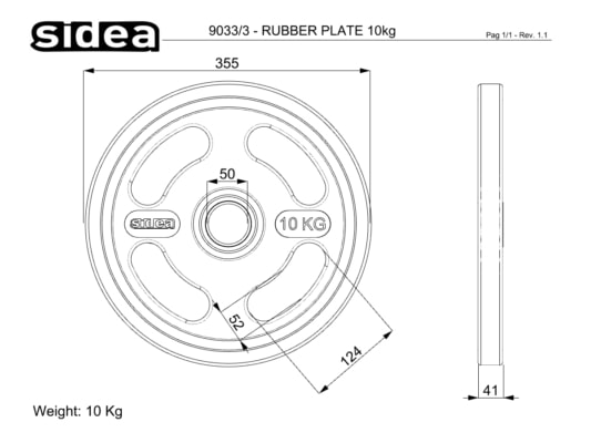 9030/3-9035/3 Rubber Plate