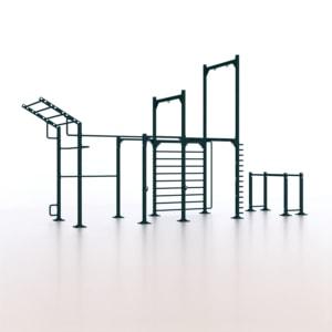 9090 Calisthenics Rack Modello 1 - Indoor