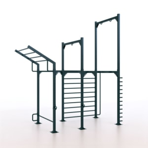 9090/2 Calisthenics Rack Modello 2 - Indoor