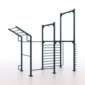 9090/3 Calisthenics Rack Modello 3 - Indoor