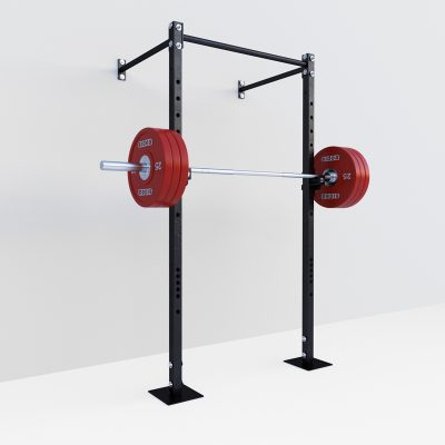 9095-16 Half Power Cage Rack - Front
