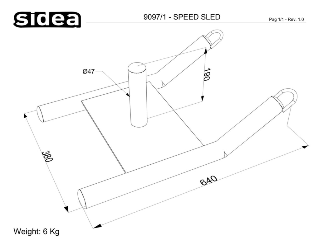 9097_1 - Speed Sled