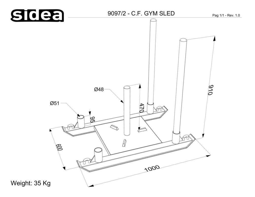 9097_2 - C.F Gym Sled