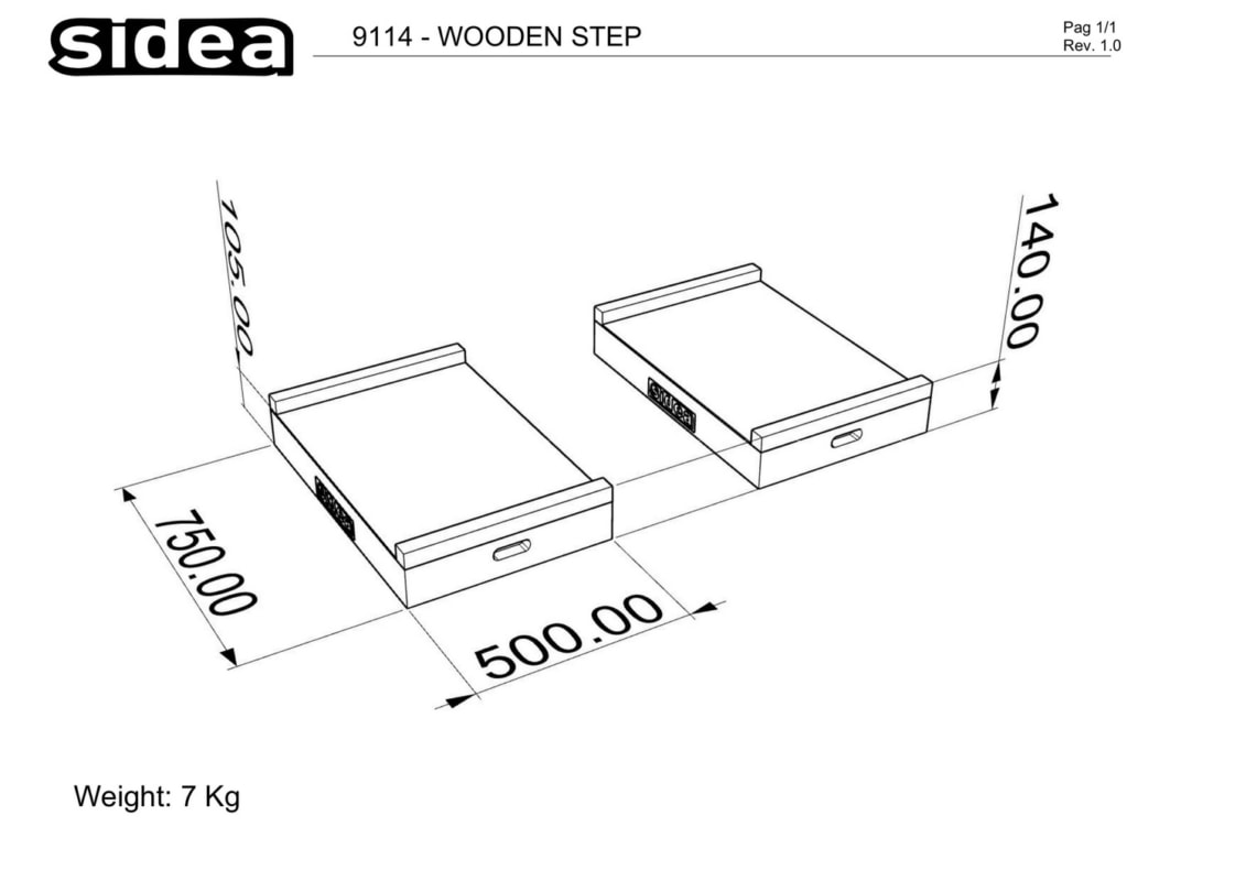 9114 - Wooden Step