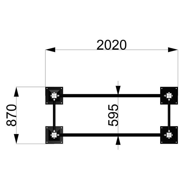 Calisthenics Rack-parallel