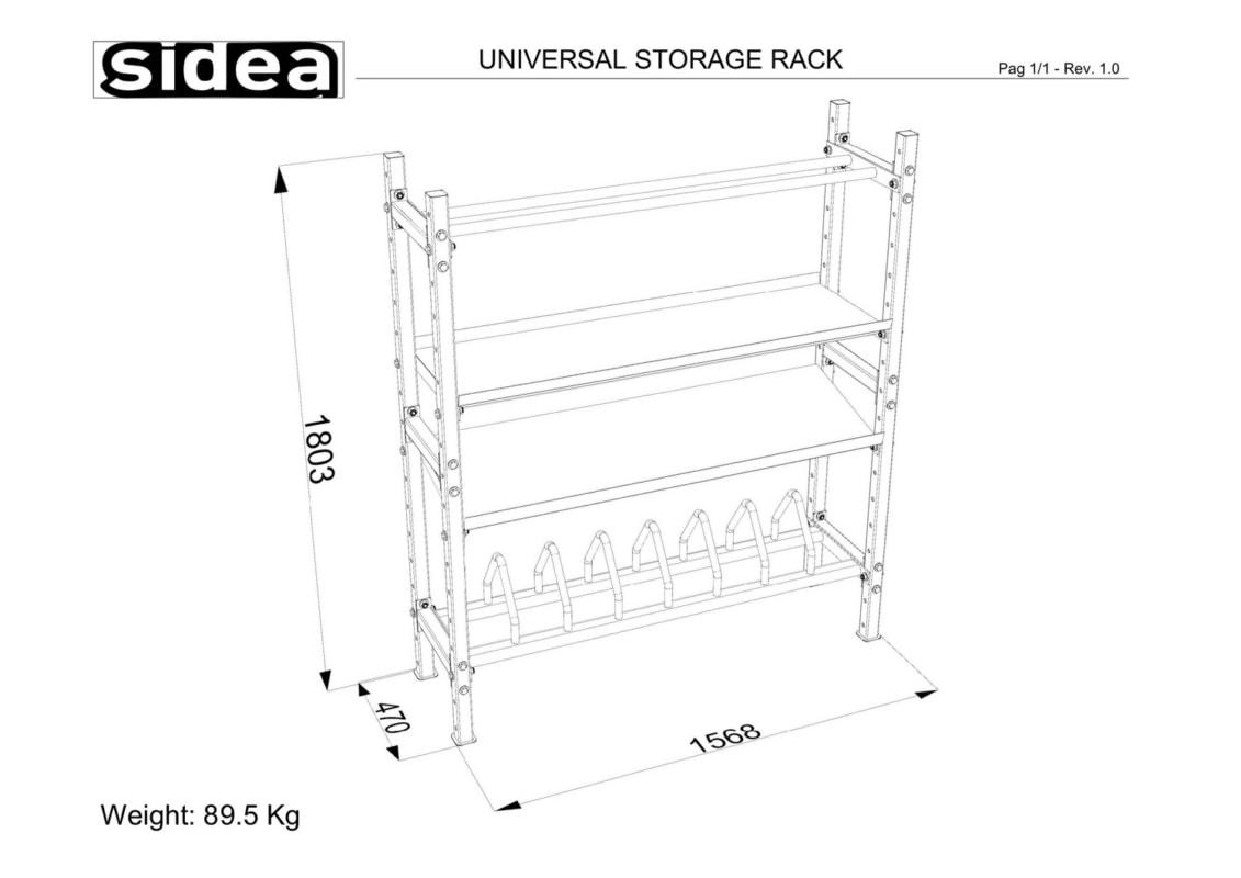 4145 - Universal Storage Rack-1