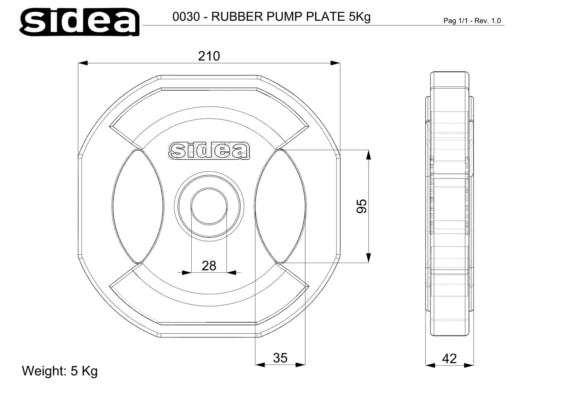 0028-0030 Piastre 28 mm Super Pump