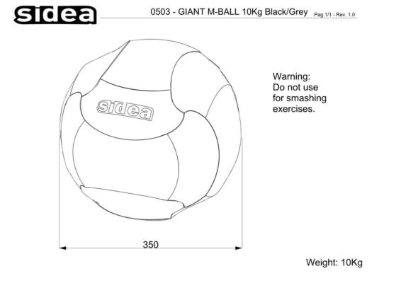 0500-0505 Giant Medicine Ball