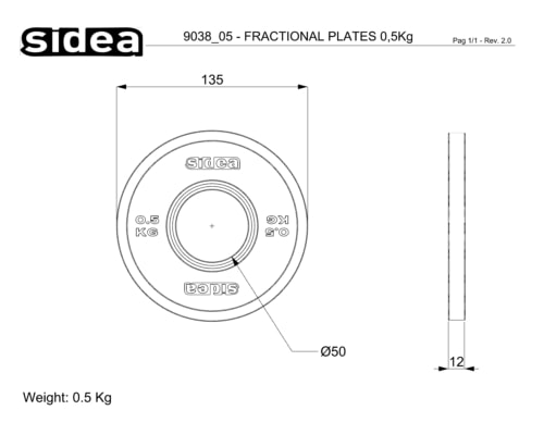 9038/05-9038/25 Fractional Plates