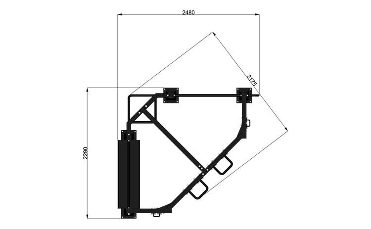 9093 Functional Rack Modello 2