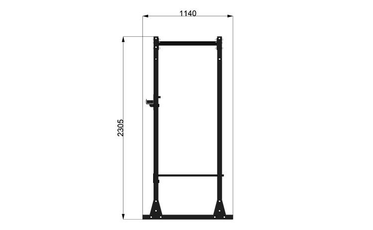 9095M4 Rack Station Modello 2600 H. Ladder