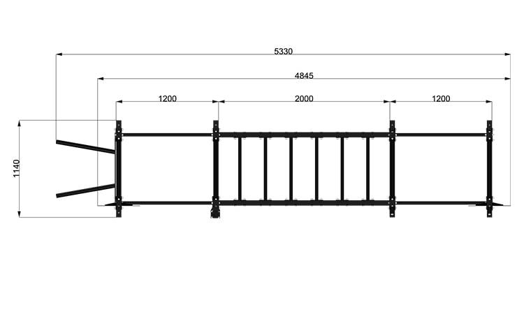 9095M5 Rack Station Modello Functional