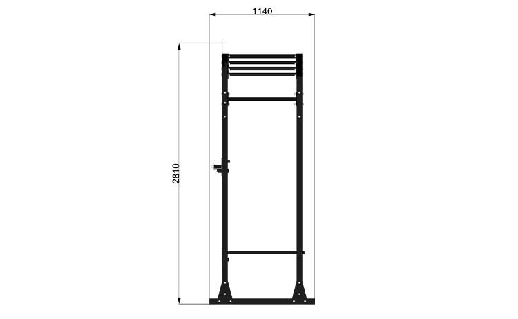 9095M6 Rack Station Modello D. Ladder