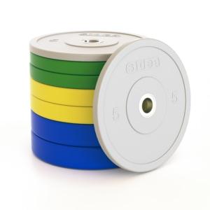 Pro-Training-Bumper-Plate-Kit-100-Kg-dischi-piastre-set-bilanciere-crossfit
