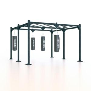 boxing-station-struttura-sacchi-boxe-combat-sport-allenamento-training-appendimento-rack-monkey-bar-punching-bag