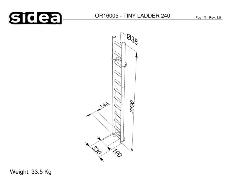 OR16005 Tiny Gym Ladder