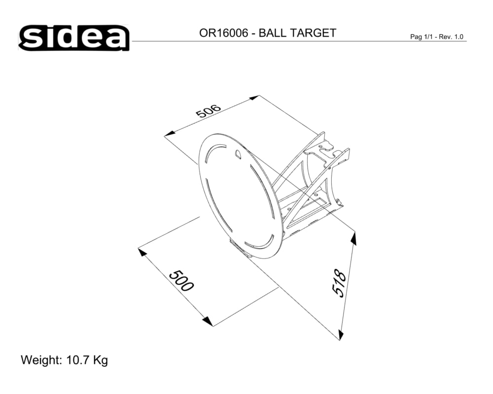 OR16006 Ball Target