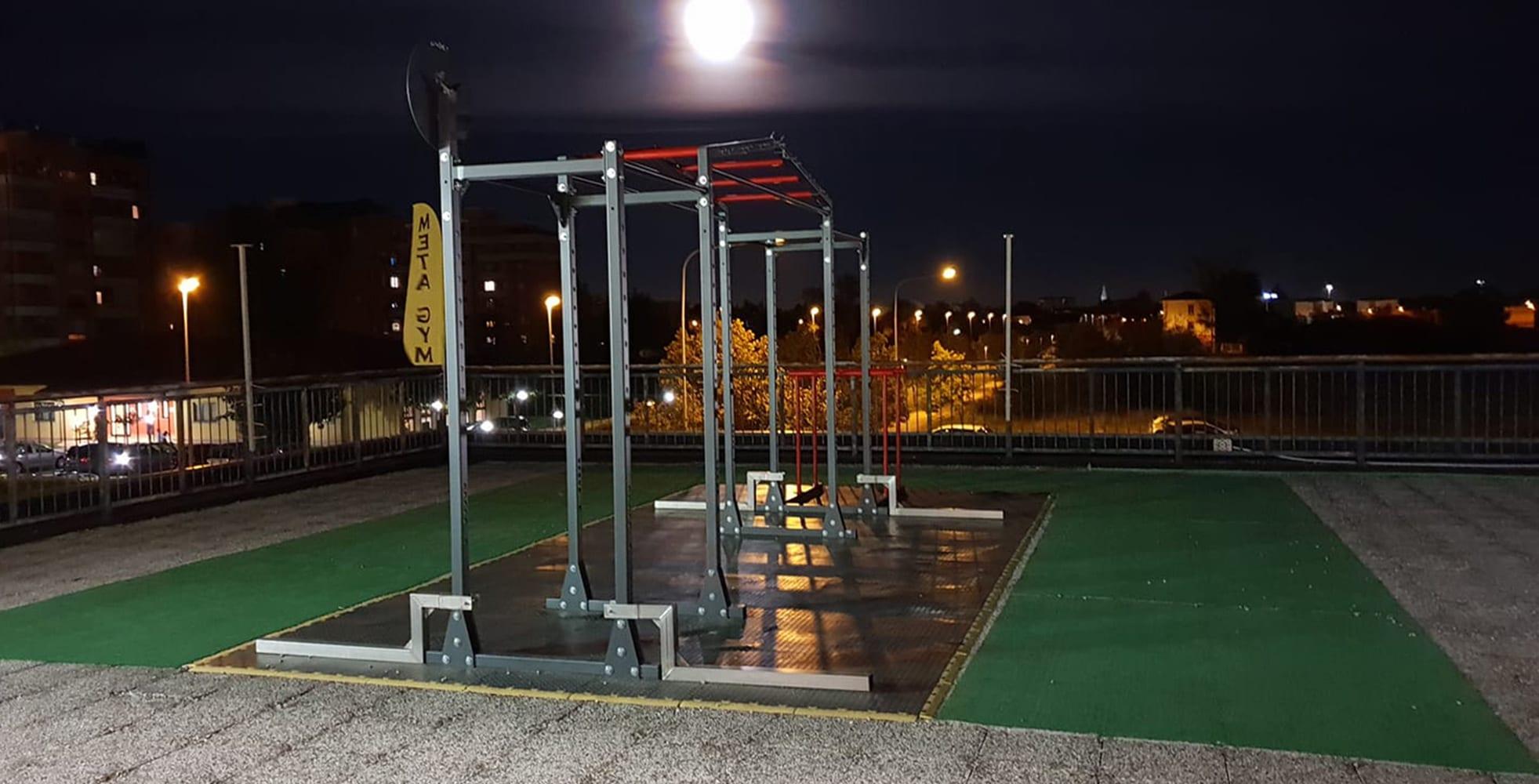 9095/16 Half Power Cage Rack
