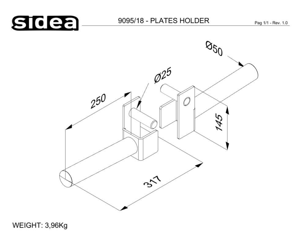9095_18 - PLATES HOLDER